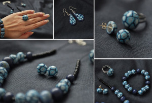 FIMO jewelry sets vs. types of personalities